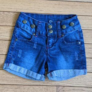 Woolworths High Waist Distressed Jeans